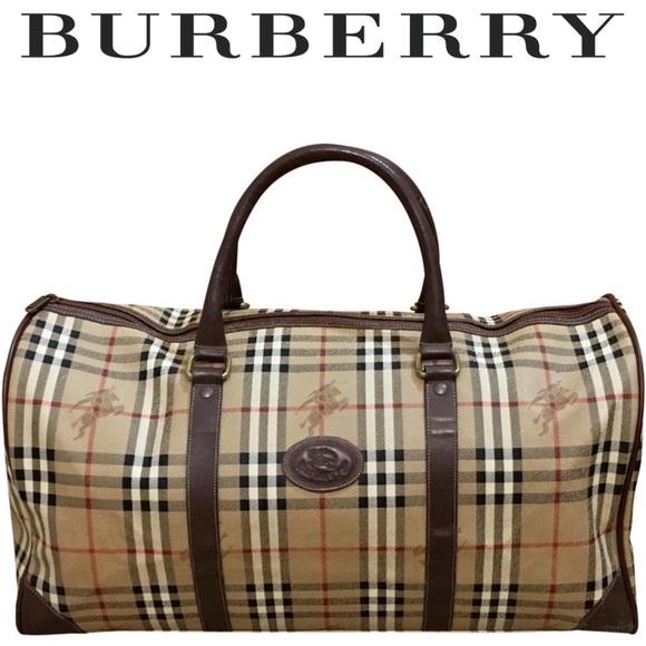 22188b2a9546 Burberry Handbags - Authentic BURBERRYS unisex travel bag
